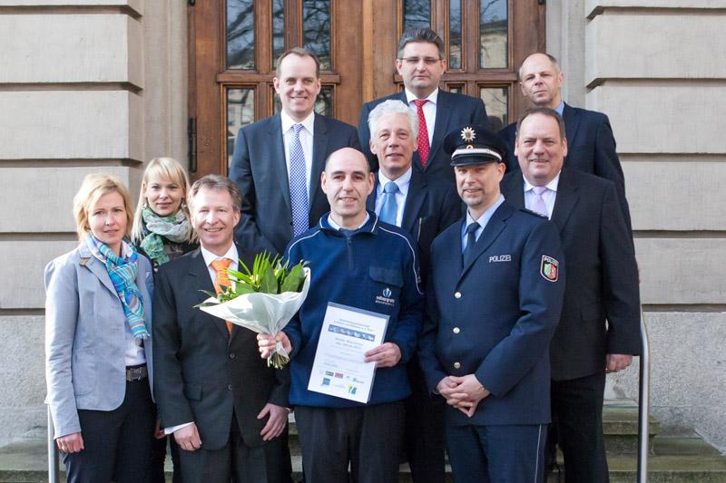 Mitarbeiter des Jahres 2013 von der Vollmergruppe Dienstleistung