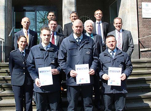 Mitarbeiter des Jahres 2014 von der Vollmergruppe Dienstleistung