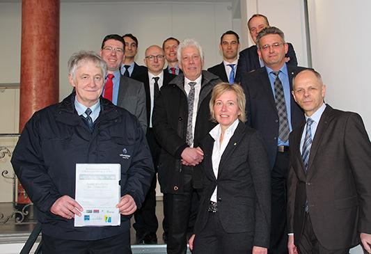 Mitarbeiter des Jahres 2017 von der Vollmergruppe Dienstleistung