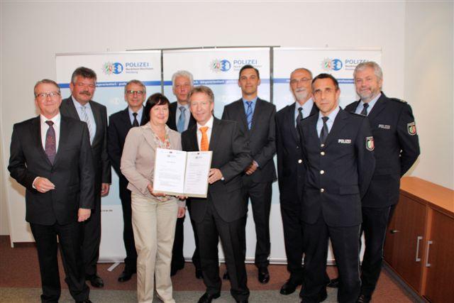 Sicherheitspartnerschaft Duisburg geht an den Start