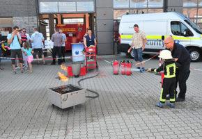 """Vollmergruppe bei """"Feuerwehr hautnah"""""""