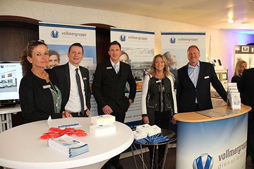 Vollmergruppe mit Stand auf der Immobilienmesse in Mülheim 2017