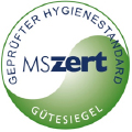 MSzert: Geprüfter Hygienestandard.