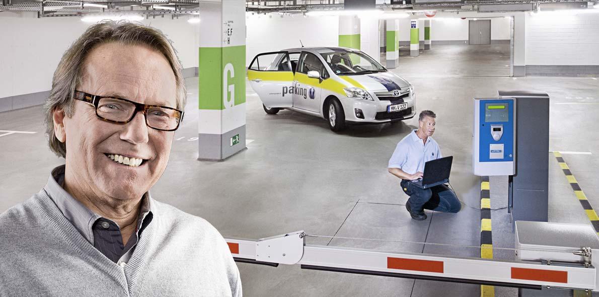 Willkommen im Bereich Parking der Vollmergruppe Diensleitung.