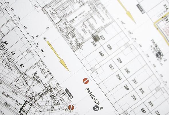 Vollmergruppe Parking: Planung von Parkhäusern, Tiefgaragen und Parkplätzen.