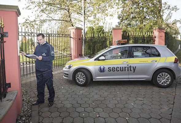 Die Sicherheitsdienste für private Sicherheit der Vollmergruppe Security.