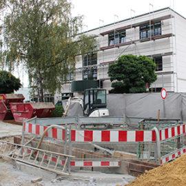 Bombenentschärfung mit Evakuierung in der Neckarstraße in Mülheim