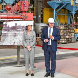 Bundespräsident Frank-Walter Steinmeier zu Besuch in Mülheim